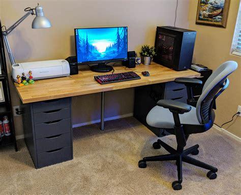 ikea countertop desk reddit hopsizzle u hopsizzle reddit