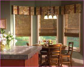 Window treatments for kitchen bay windows home design ideas