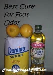 foot odor sports and scrubs on