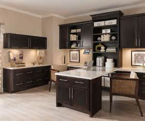 Cherry Cabinet Kitchen Office Cabinets In Dark Cherry Finish Diamond Cabinetry