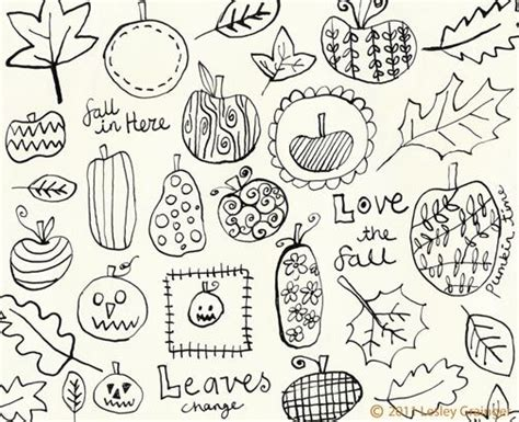doodle image ideas fall doodles drawing ideas fall and doodles