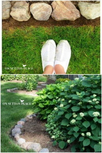 easy oneday diy garden edging pattern  natural