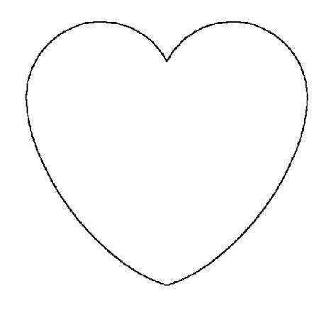 imagenes de corazones sin pintar image gallery dibujo corazon