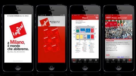 app salone mobile salone mobile 2014 un app per orientarsi nel design
