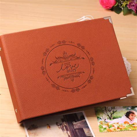 Photo Album Handmade - handmade album photo high quality 10 inch leather diy