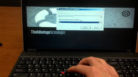 resetting keyboard keys windows 7 how to restore a lenovo thinkpad to factory default
