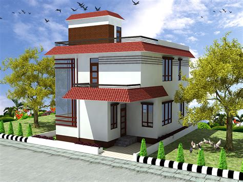 small duplex house model studio design gallery