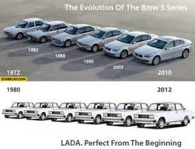 Lada Evolution Evolution Of Bmw 5 Series Lada From The Beginning