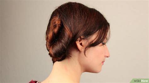 cara sanggul pramugari step by step 3 cara untuk membuat rambut model french twist wikihow