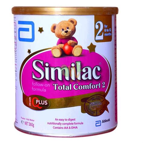 Similac Total Comfort 2 similac total comfort stage 2 milk powder quickneasy qne pk