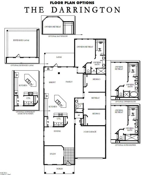 David Weekly Floor Plans by Rivertown Model David Weekley Homes The Darrington The