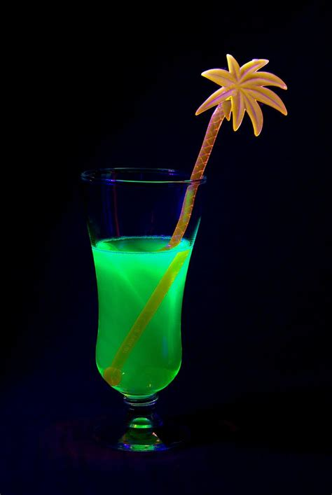 liquids that glow under black light glow party ideas