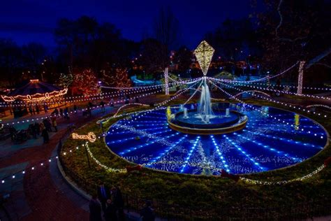 franklin square s electrical spectacle a holiday light