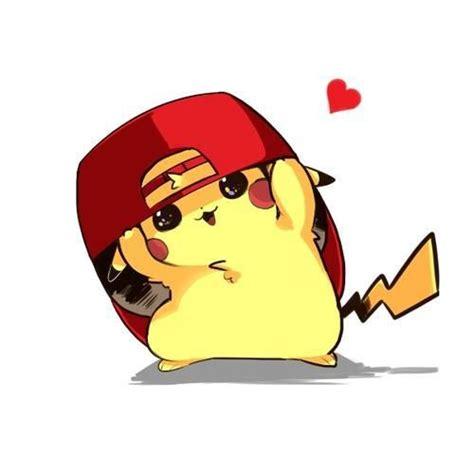 cute pikachu cute pikachu with hat by pikachu pokemon and cute pikachu on pinterest