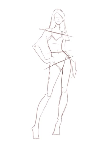 Pose Model For Drawing