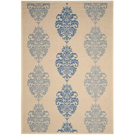 12 x 12 outdoor rug safavieh courtyard blue 9 ft x 12 ft indoor