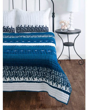 image of 3pc donovan quilted bedding set for the home