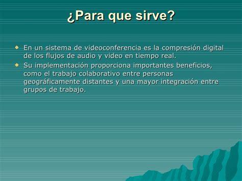 video conferencia