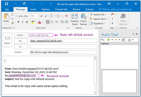 Office 365 Outlook Tutorial Pdf How To Always Reply Emails From Specific Account In Outlook