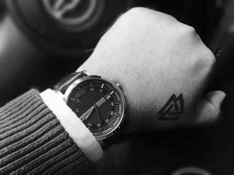 simple norse tattoo 50 valknut tattoo designs for men norse mythology ink ideas