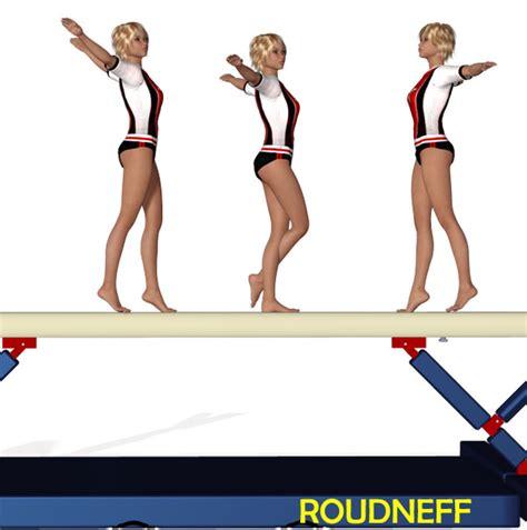 Eps Sport Figurines 3d Gymnastique Equilibre Sur La