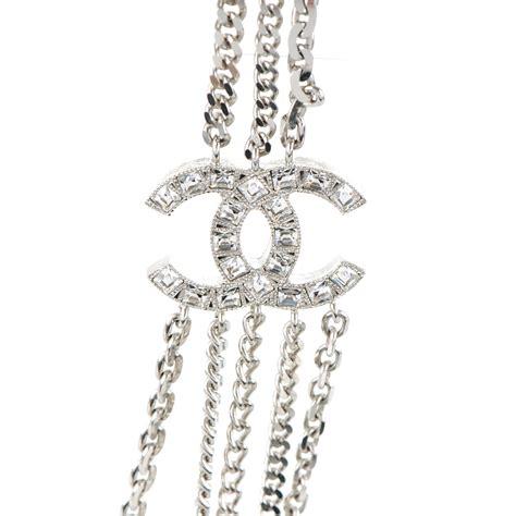 Chanel Chain Baguette by Chanel Baguette Cc Shield Multi Strand Chain