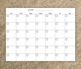 easy fill in calendar calendar template 2016