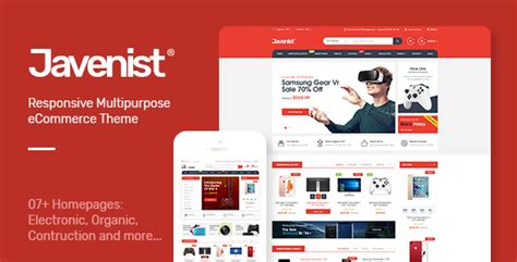 javenist multipurpose ecommerce wordpress theme  plaza