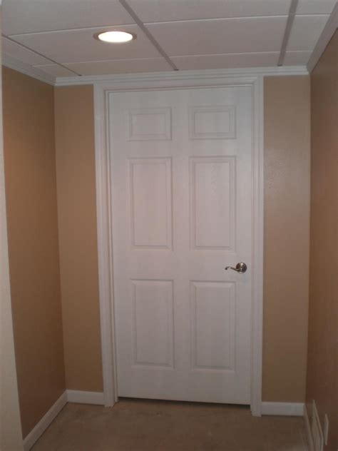 brand new basement door installation in greenfield wi