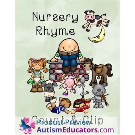 nursery rhyme clip nursery rhyme count and clip