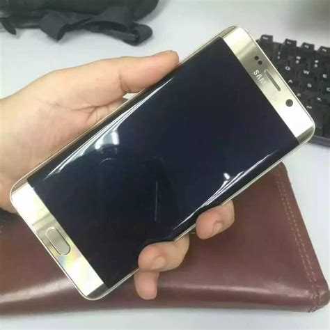 Samsung S6 Edge Gold samsung galaxy s6 edge plus gold platinum secondhand my
