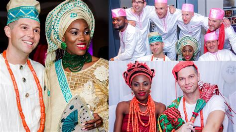 OUR TRADITIONAL NIGERIAN WEDDING   EDO / BINI MARRIAGE  Abies and Tom   YouTube