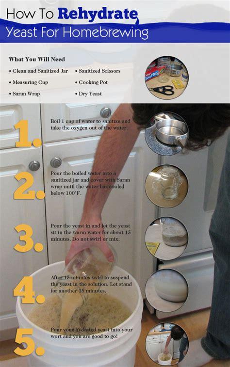 yeast rehydration rehydrate yeast