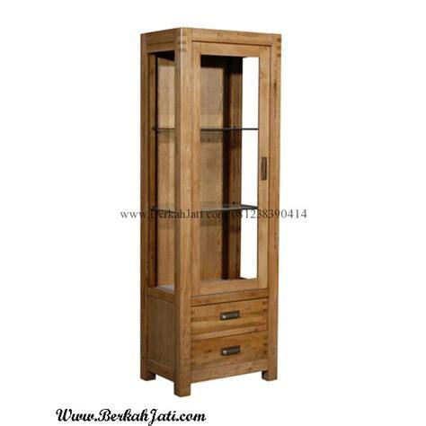 Lemari Kayu Kecil lemari hias minimalis laci bahan kayu jati berkah jati furniture berkah jati furniture