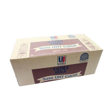 Uht 200 Ml jual ultra jaya uht coklat 200 ml 1 dus