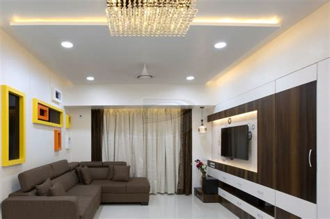 indian home design 2bhk 2bhk flat interior in nerul navi mumbai modern dining