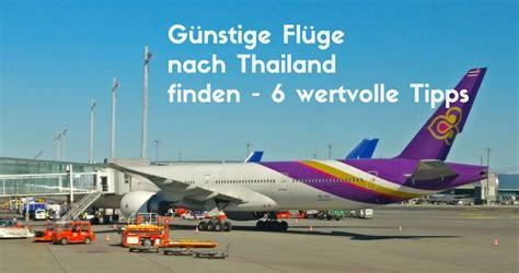wann thailand flug buchen reiseblog backpacking reisen nach thailand