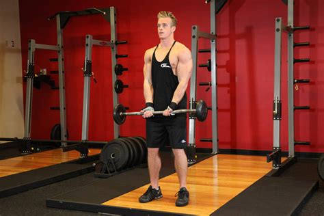 grip ez bar curl exercise guide and