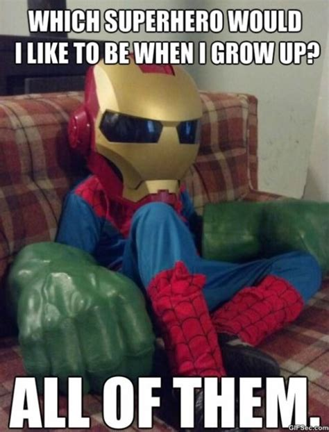 Meme Superhero - funny superhero memes