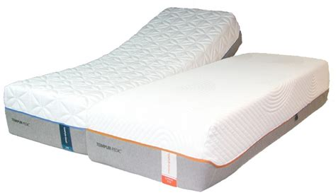 tempurpedic split king adjustable bed bedroom tempur pedic split king adjustable base dual