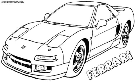 ferrari coloring pages coloring pages to download and print