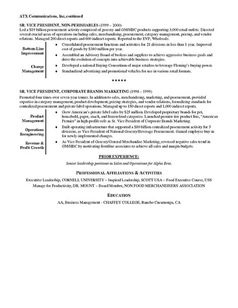 Executive Resume Examples. Financial Executive Resume