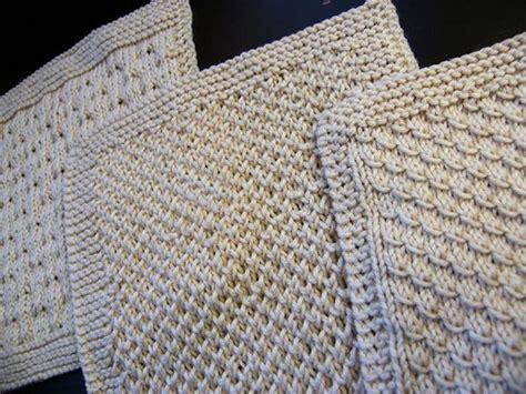 spa cloth knitting pattern organic cotton spa cloths set 1 knitting patterns and