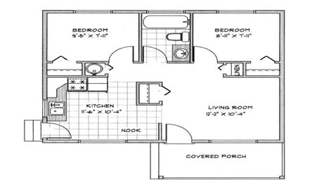 cabin floor plans under 1000 square feet small cabin floor plans cabin cottage plans under 1000 sq
