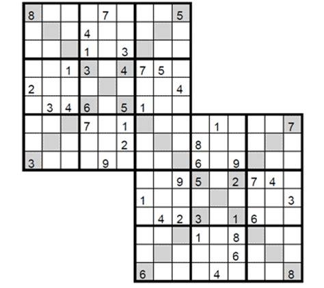 printable intermediate killer sudoku intermediate double x sudoku 2 intermediate double x