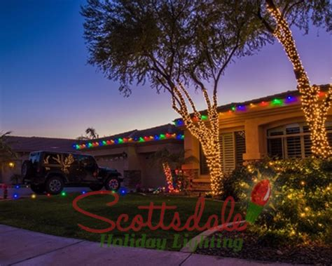 scottsdake az christmas lights featured on diy photos scottsdale light installation light installers light