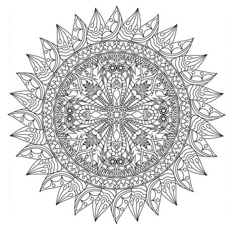 mandala coloring pages free free printable mandala coloring pages for adults