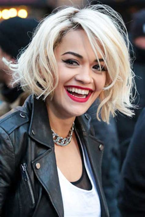 rita oras new short haircut from the 2015 grammy awards lipstick edgy bobs the best short hairstyles for women 2015