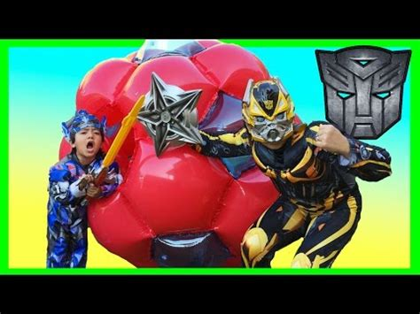 Transformers Egg Attack Optimus Prime Original bumblebee videolike
