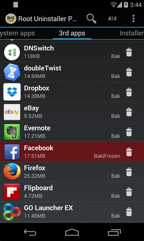 root uninstaller apk root uninstaller android apps on play